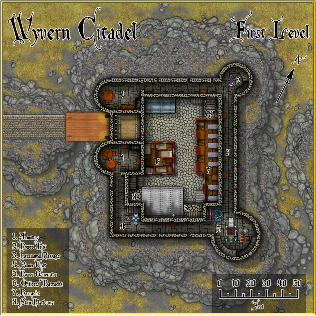 Wyvern Citadel - First Level Forum.JPG