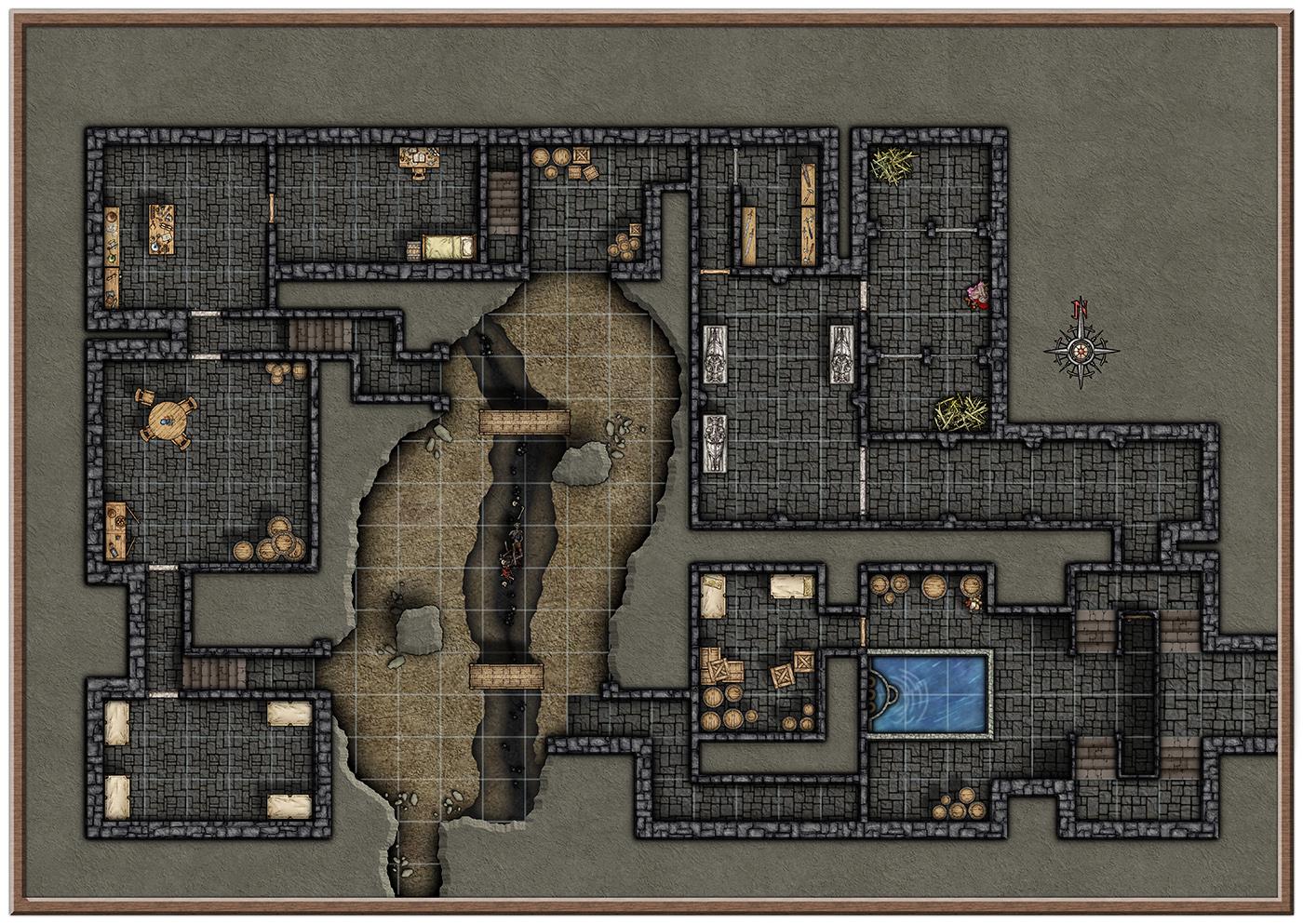 D D 5th Edition Lost Mine Of Phandelver Battlemaps Profantasy Community Forum