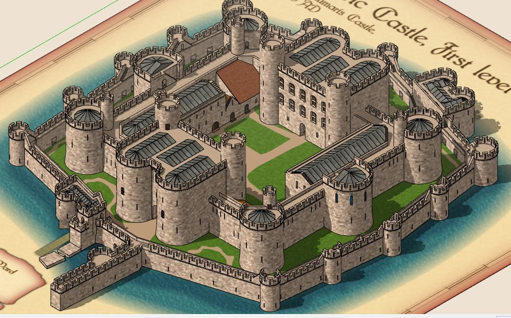 Beaumaris Castle A New Project Profantasy Community Forum