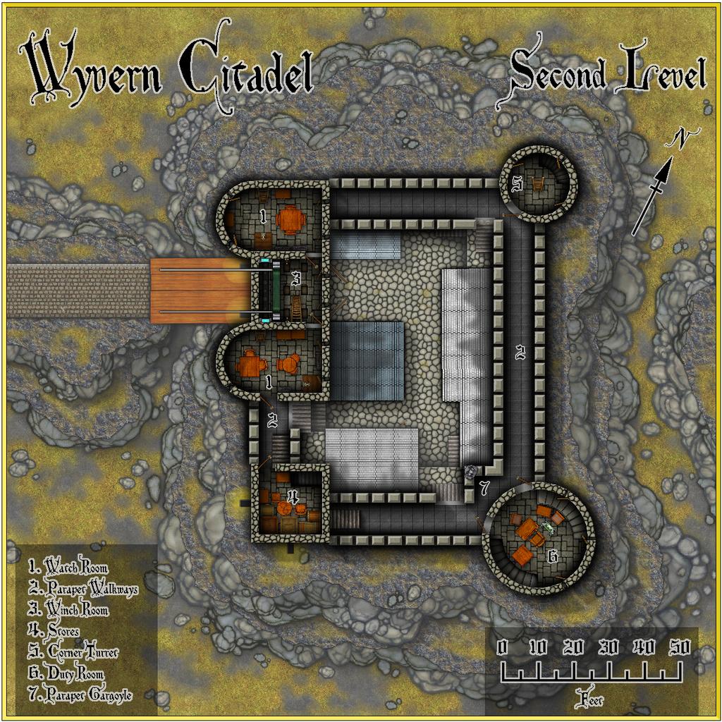 Wyvern Citadel - Second Level Forum.JPG