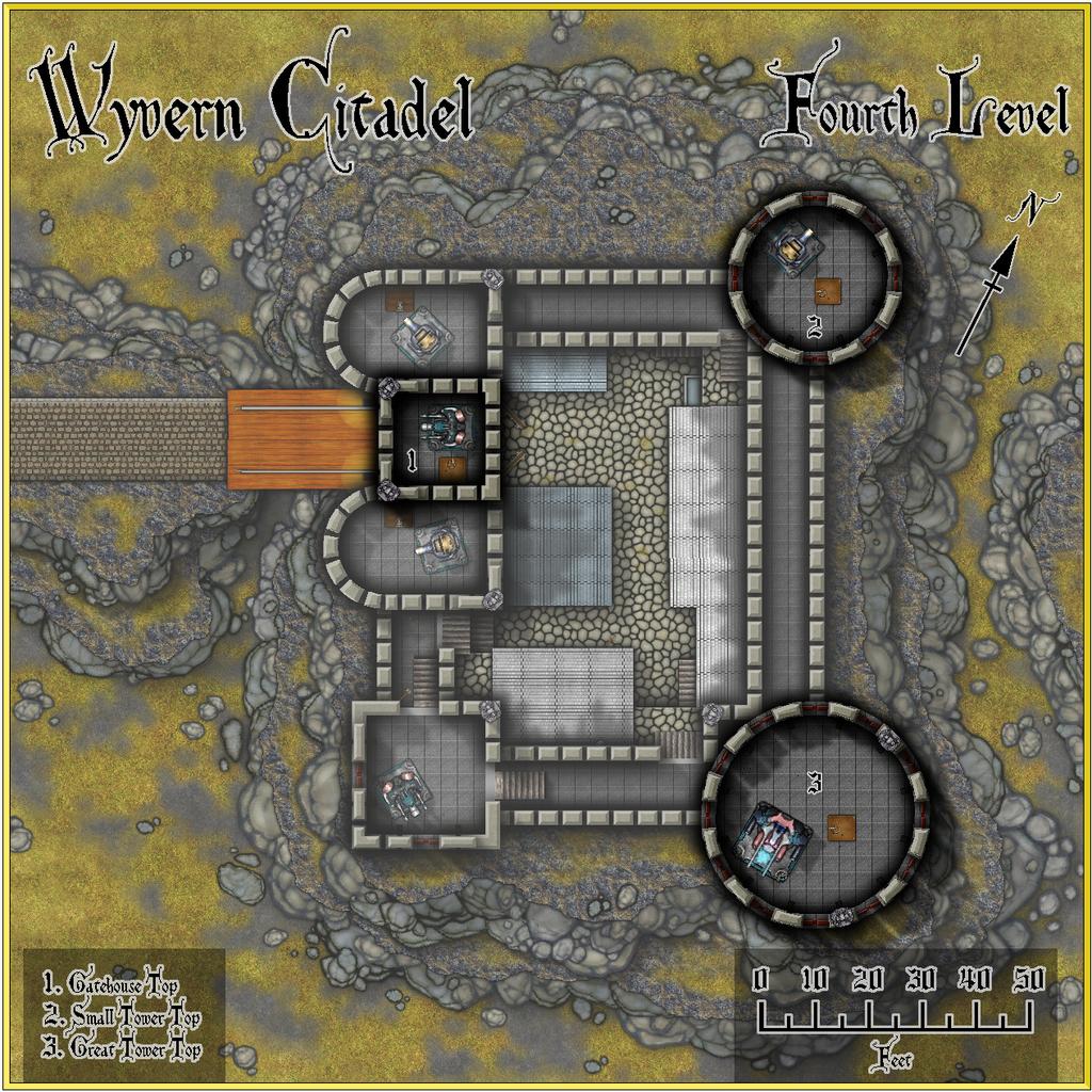 Wyvern Citadel - Fourth Level Forum.JPG