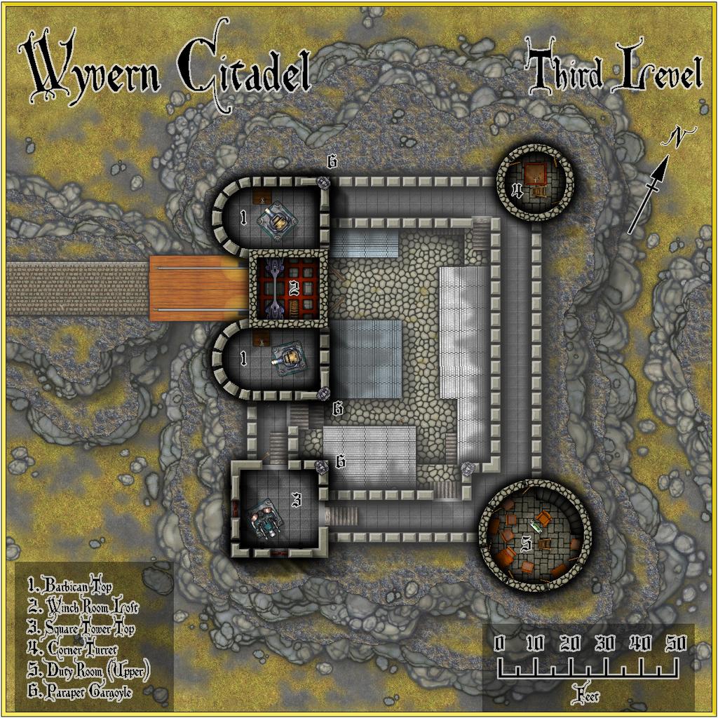 Wyvern Citadel - Third Level Forum.JPG