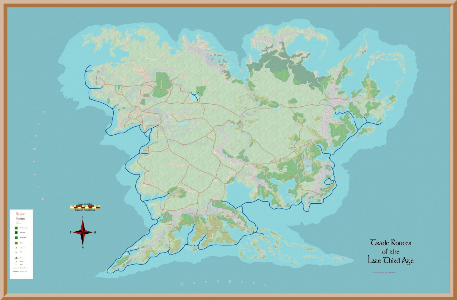 ICE M-E Trade Routes Endor Continent Map (Late Third Age) V1.00resized.JPG