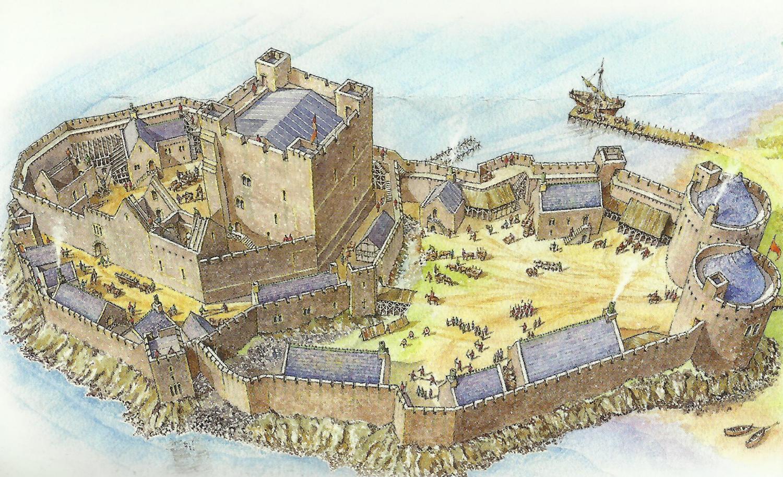 Carrickfergus castle (reconstruction).jpg