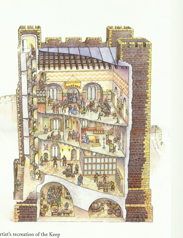 Carrickfergus castle keep (reconstruction).jpg