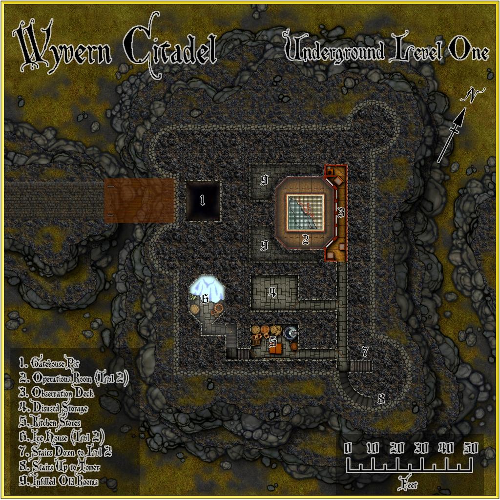 Wyvern Citadel - Underground Level One Forum.JPG